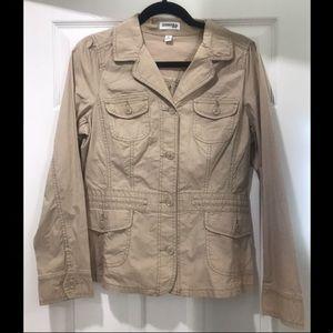 St. John's Bay tan jacket